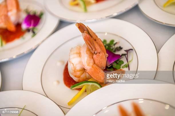 Fancy shrimp dishes