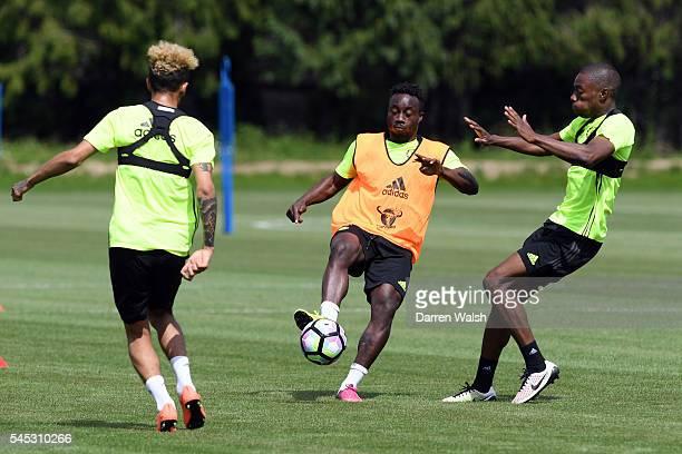 Fankaty Dabo Tika Musonda at Chelsea Training Ground on July 6 2016 in Cobham England