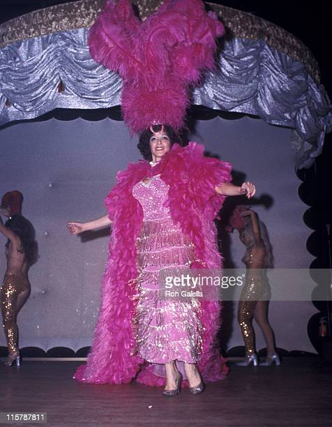 Fanne Foxe attends Fanne Foxe Performance on December 11 1974 at Club Juana in Orlando Florida