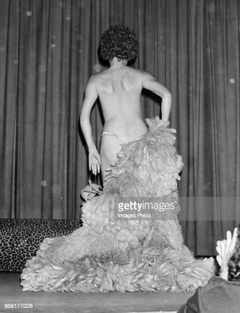 Fanne Foxe performing circa 1974 in New York City