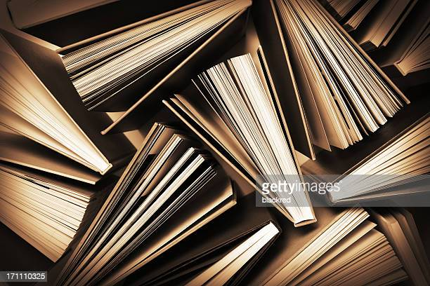 Fanned Out Books Pattern
