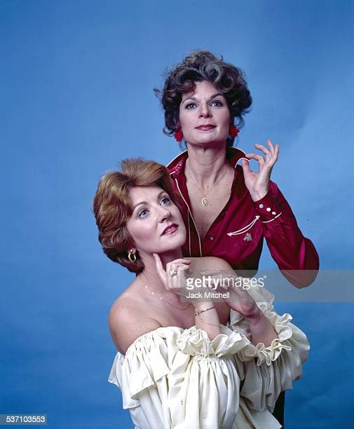 Fannie Flagg and Ronnie Claire Edwards in Patio/Porch on Broadway in 1978