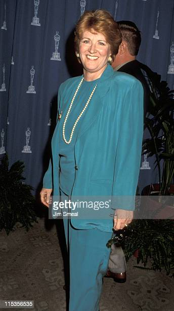 Fannie Flagg during 64th Annual Academy Awards Luncheon at Beverly Hilton Hotel in Beverly Hills California United States
