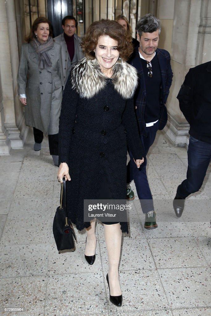 """""""Dalida, Une Garde-Robe De La Ville A La Scene"""" Exbition : Photo Call At Palais Galliera In Paris"""