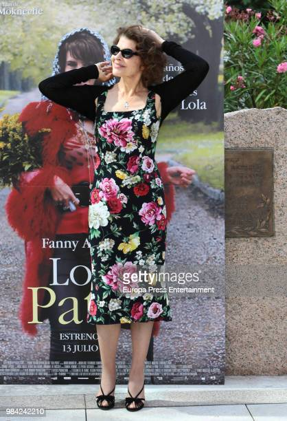 Fanny Ardant attends Lola Pater photocall at French Institute on June 26 2018 in Madrid Spain