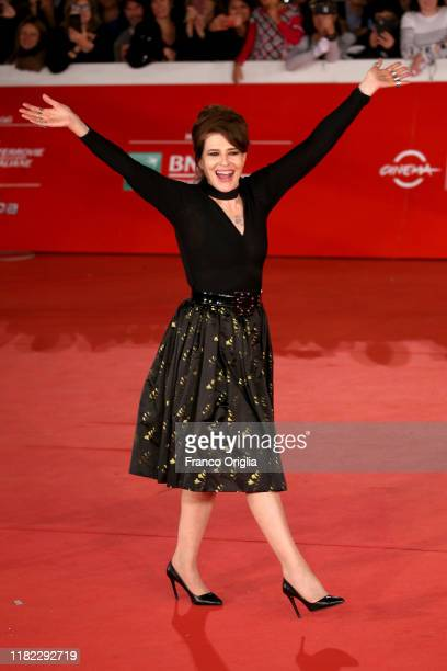 Fanny Ardant attends the La Belle Epoque red carpet during the 14th Rome Film Festival on October 20 2019 in Rome Italy