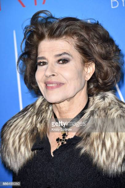 Fanny Ardant attends the 'Maria By Callas' Paris Premiere at Cinema UGC Normandie on December 5 2017 in Paris France