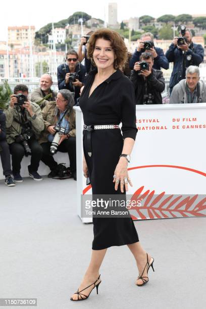 Fanny Ardant attends the photocall for Le Belle Epoque during the 72nd annual Cannes Film Festival on May 21 2019 in Cannes France