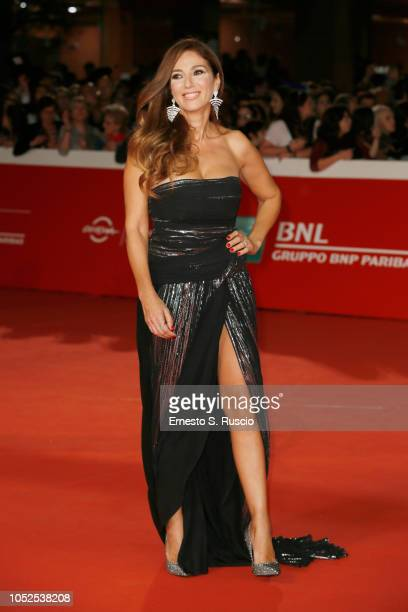 """Fanny Cadeo walks the red carpet ahead of the """"The House With A Clock In Its Walls"""" screening during the 13th Rome Film Fest at Auditorium Parco..."""