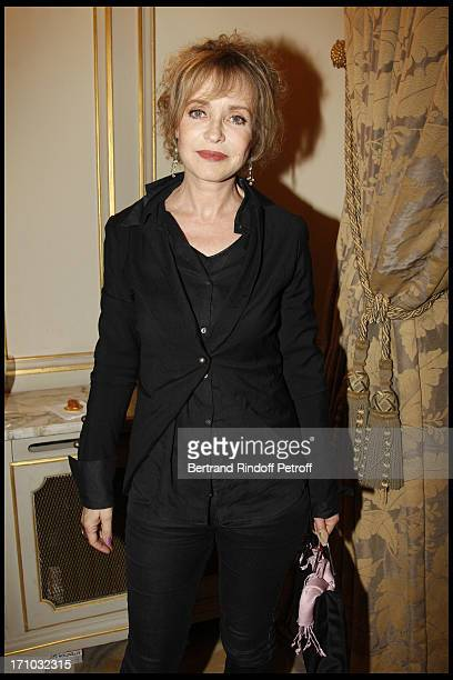 Fanny Cottencon at 10th Edition Of Literary Prize Cine Roman Carte Noire At Hotel Plaza Athenee In Paris