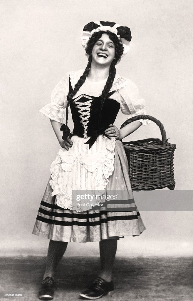 Fanny Fields, actress, early 20th century.Artist: Rotary Photo : News Photo