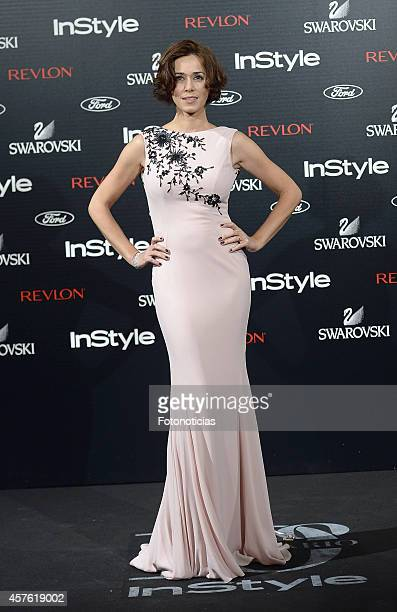 Fanny Gautier attends the InStyle Magazine 10th anniversary party at Gran Melia Fenix Hotel on October 21 2014 in Madrid Spain