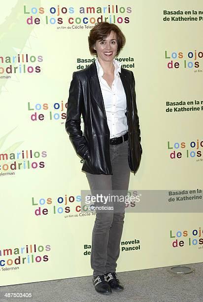 Fanny Gautier attends the 'Los Ojos Amarillos de los Cocodrilos' premiere the Academia del Cine on April 30 2014 in Madrid Spain