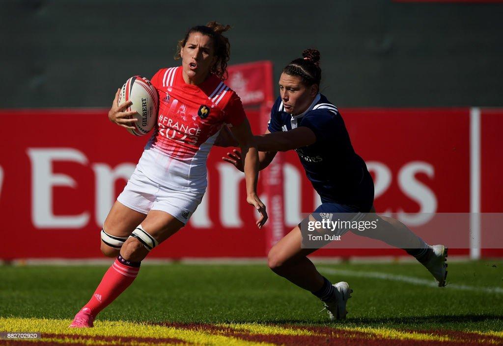 Day One - Emirates Dubai Rugby Sevens: HSBC Sevens World Series : Photo d'actualité