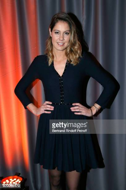 Fanny Leeb attends the Snow Night La Nuit des Neiges Charity Gala on February 17 2018 in CransMontana Switzerland