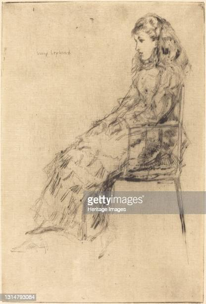 Fanny Leyland, 1873. Artist James Abbott McNeill Whistler.