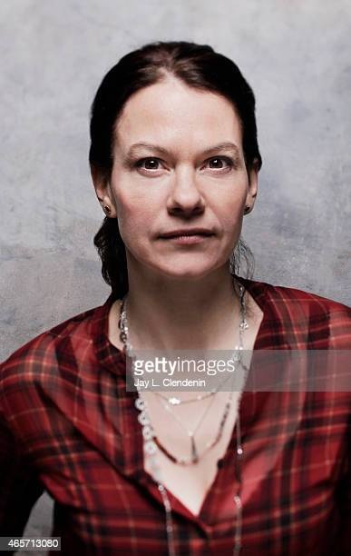 Fanny Mallette is photographed for Los Angeles Times at the 2015 Sundance Film Festival on January 24 2015 in Park City Utah PUBLISHED IMAGE CREDIT...
