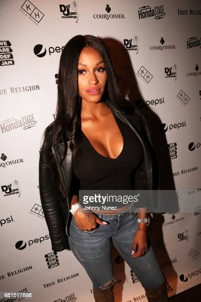 Fanny Nguesha attends the Def Jam Upfronts 2017 showcase at Kola House on May 9 2017 in New York City