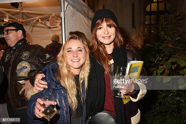 Fanny TouronÊAnais Tellenne attend Les Fooding 2017 / Cocktail at Cathedrale Americaine de Paris on November 7 2016 in Paris France