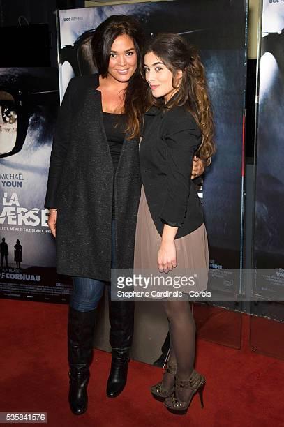 Fanny Valette and Lola Dewaere attend La Traversee Premiere at UGC Cine Cite des Halles in Paris