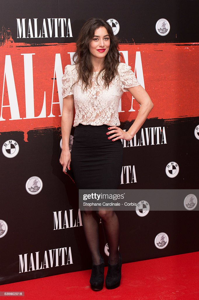 Fanny Valette attends the 'Malavita' premiere at Europacorp Cinemas at Aeroville Shopping Center, in Roissy-en-France, France.