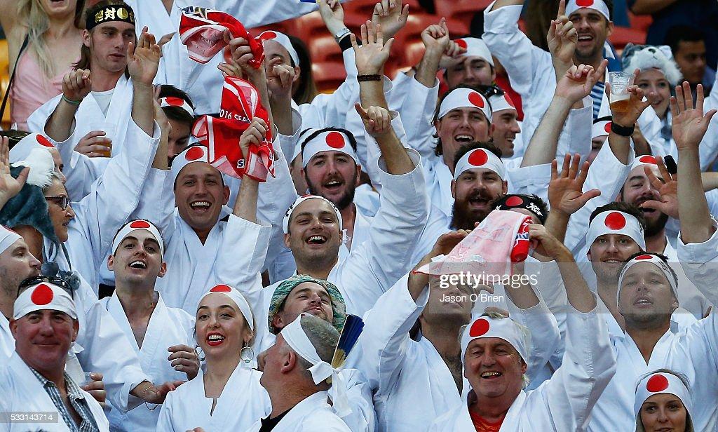 Super Rugby Rd 13 - Reds v Sunwolves : ニュース写真