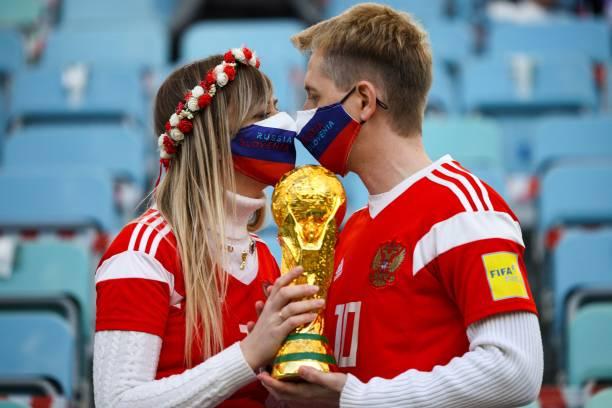 RUS: Russia v Slovenia - FIFA World Cup 2022 Qatar Qualifier
