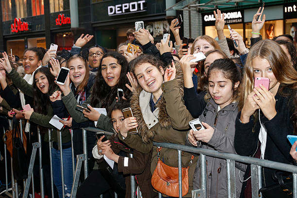 Meet greet with ariana grande in hamburg photos and images getty fans are waiting for ariana grande during the meet greet with ariana grande to promote m4hsunfo
