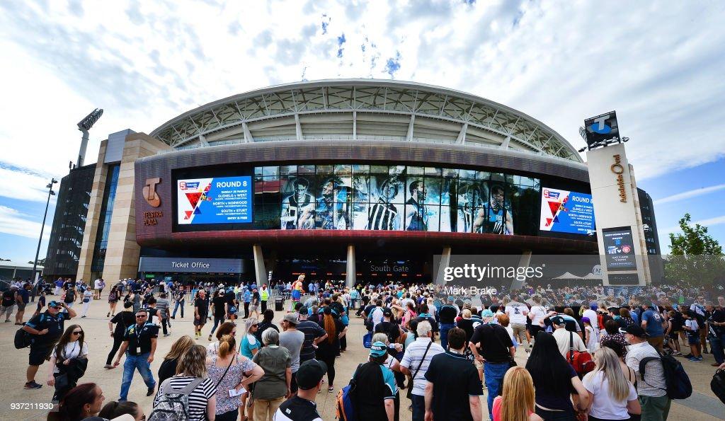 AFL Rd 1 - Port v Fremantle