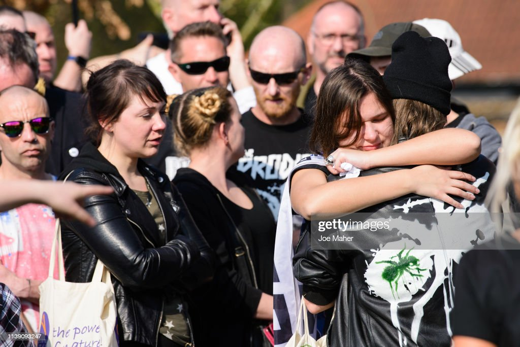 The Funeral Of Keith Flint : News Photo