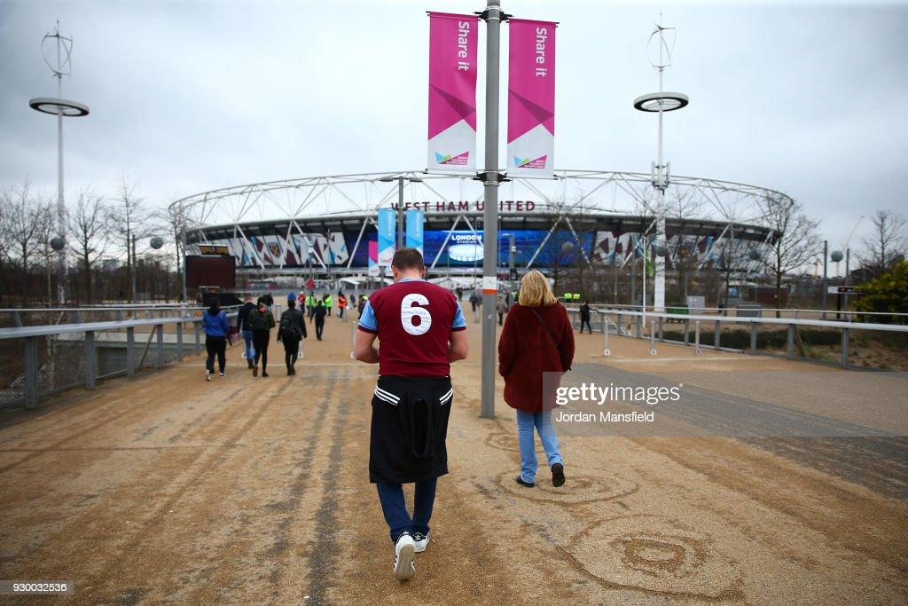 West Ham United v Burnley - Premier League : News Photo