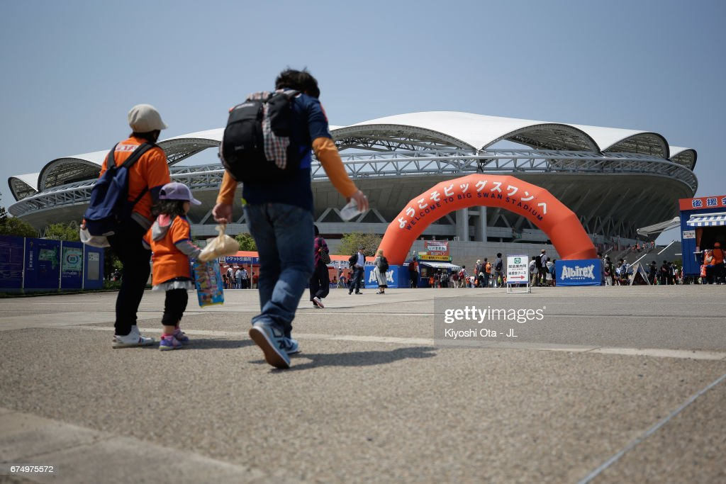 Albirex Niigata v Kashiwa Reysol - J.League J1 : News Photo