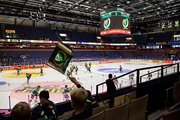 SWE: Farjestad Karlstad v Comarch Cracovia - Champions Hockey League