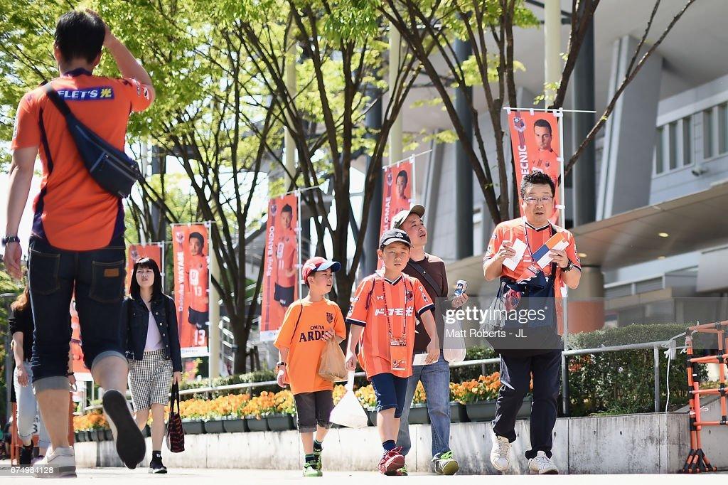 Omiya Ardija v Urawa Red Diamonds - J.League J1 : News Photo