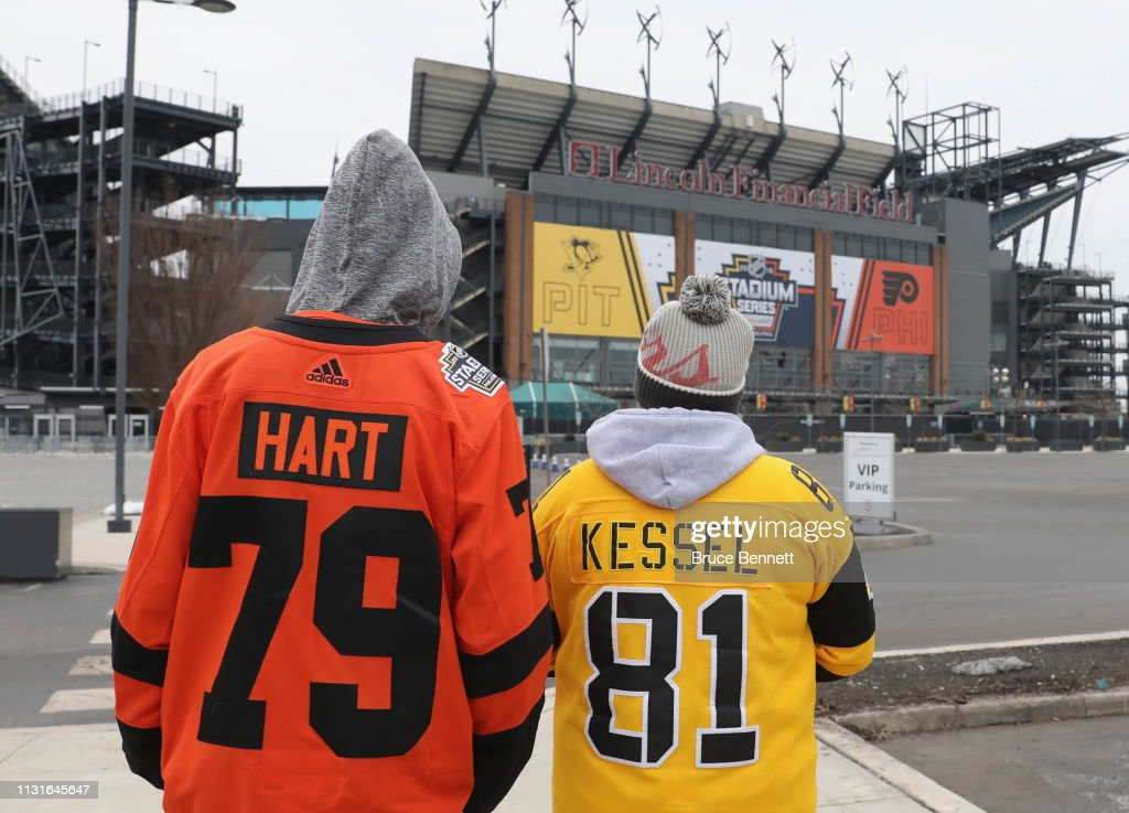 PA: 2019 Coors Light NHL Stadium Series - Pittsburgh Penguins v Philadelphia Flyers