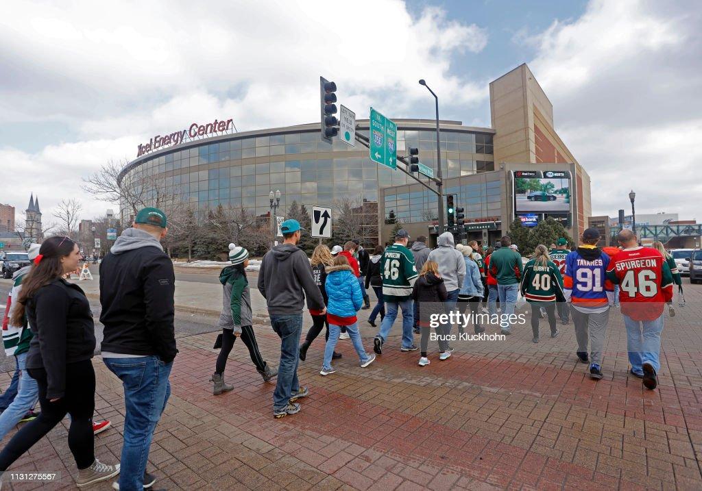 MN: New York Islanders v Minnesota WIld