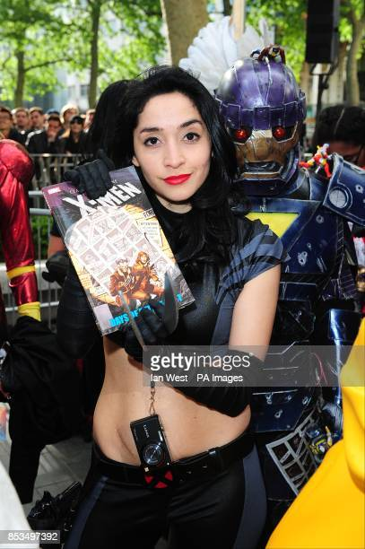 Fans arriving at the X-Men Days of Future Past UK premieree, at The West End Odeon, Leicester Square, London.