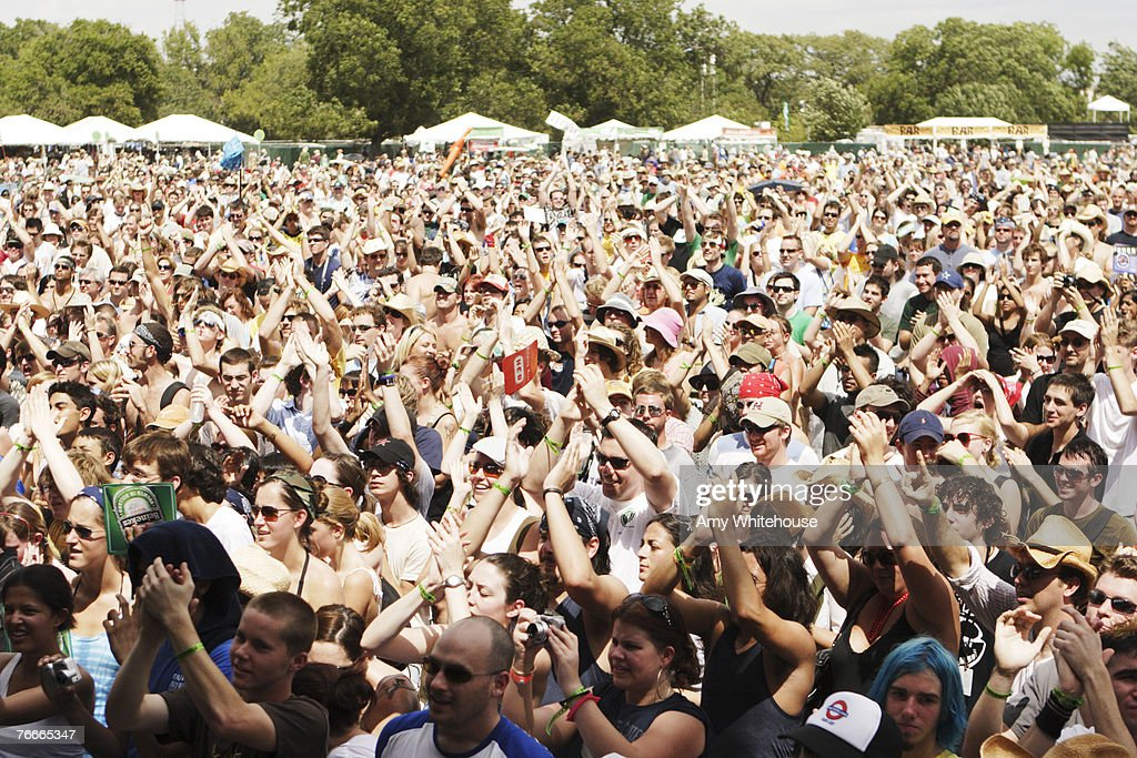 Austin City Limits Music Festival - Day Two - September 16, 2006 : News Photo