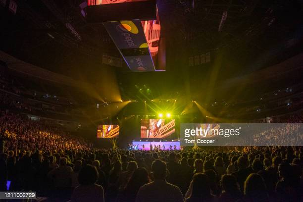 Fans at Oprah's 2020 Vision: Your Life in Focus Tour presented by WW at Pepsi Center on March 07, 2020 in Denver, Colorado.