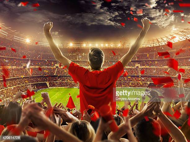 fans at stadium - spanish culture stock pictures, royalty-free photos & images