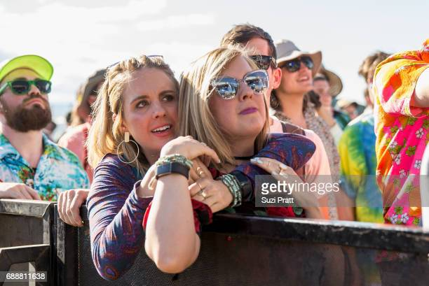 Fans at the Sasquatch Music Festival at Gorge Amphitheatre on May 26 2017 in George Washington