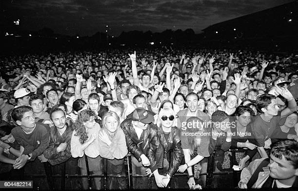 Fans at the U2 Zooropa Concert at the RDS in Dublin
