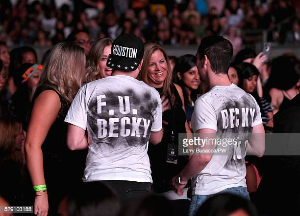 Fans attend Beyonce's hometown show during 'The Formation World Tour' at NRG Stadium on May 7, 2016 in Houston, Texas.