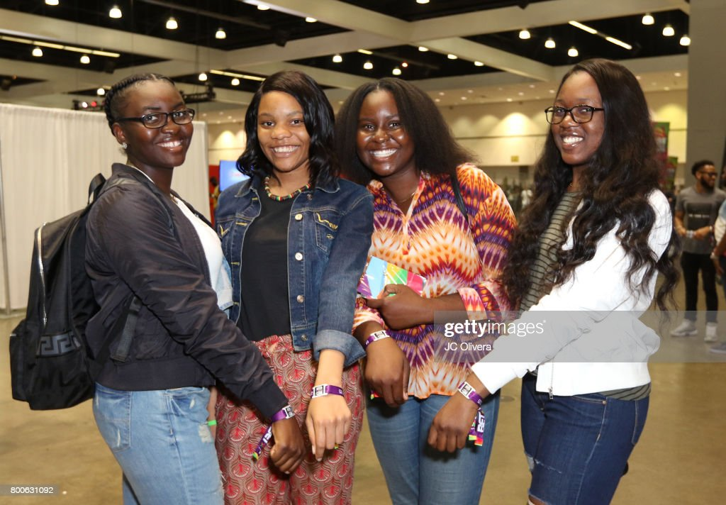 Fans attend day one of the 2017 BET Experience Fanfest at Los Angeles Convention Center on June 24, 2017 in Los Angeles, California.