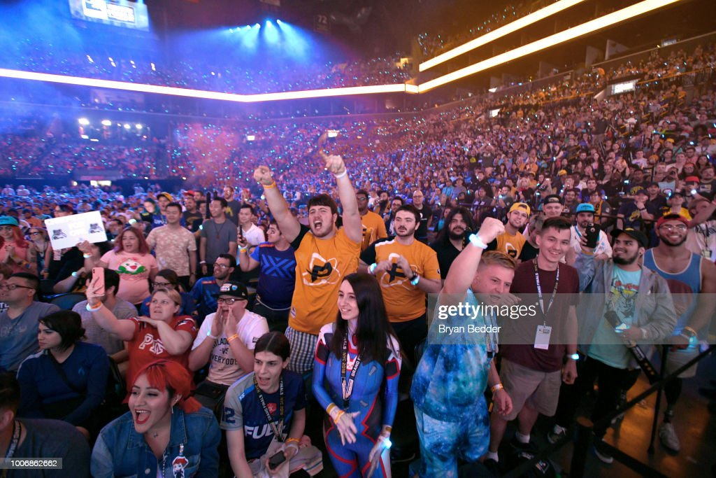 Overwatch League Grand Finals - Day 2 : Foto jornalística