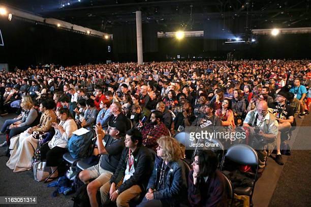 Fans attend the Fear the Walking Dead Panel at Comic Con 2019 on July 19, 2019 in San Diego, California.