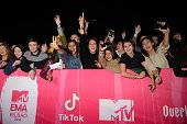bilbao spain fans attend mtv emas