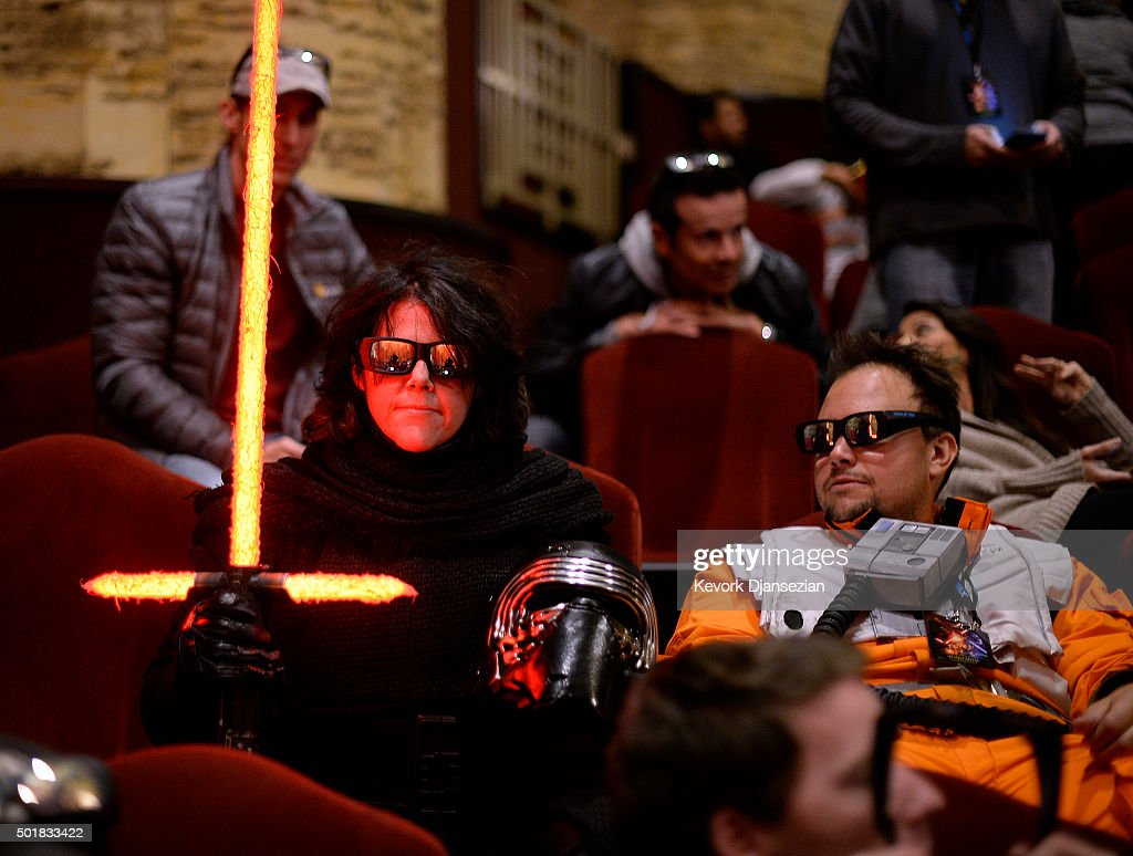 "Opening Night Of Walt Disney Pictures And Lucasfilm's ""Star Wars: The Force Awakens"" At The TCL Chinese Theatre : News Photo"