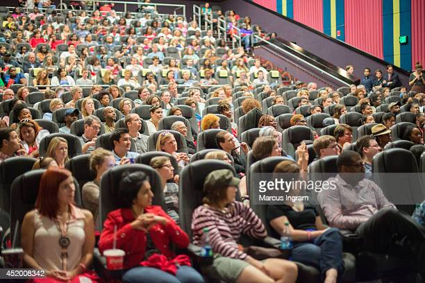 """Fans attend the """"Red Band Society"""" screening and Q & A at Regal Atlantic Station on July 10, 2014 in Atlanta, Georgia."""