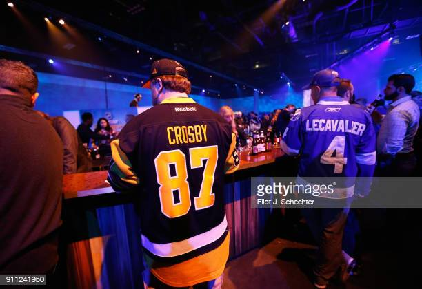 Fans attend the Saturday Night Party as part of the 2018 NHL AllStar Weekend on January 27 2018 in Tampa Florida